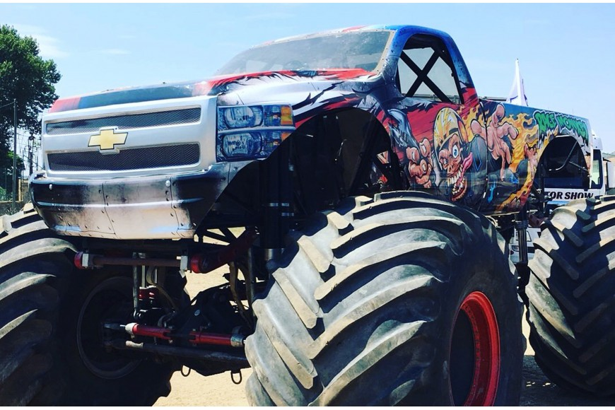 Wrap Monstertruck
